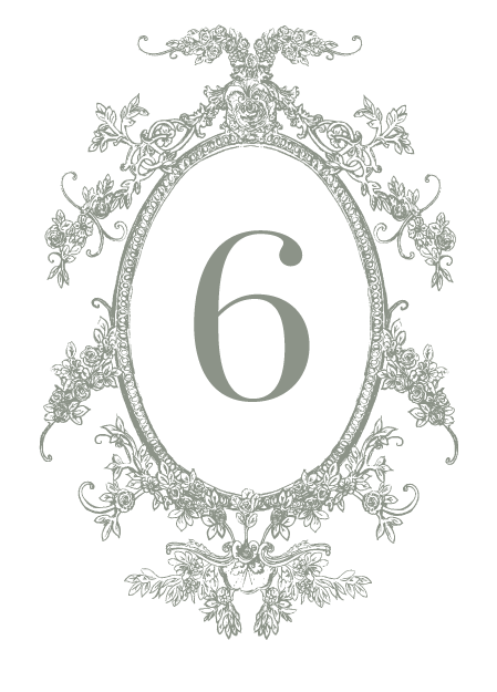 Table Number - Clara Suite - Miss Modern Calligraphy