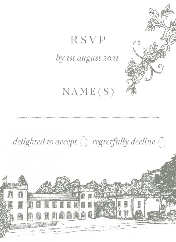 RSVP - Clara - Miss Modern Calligraphy