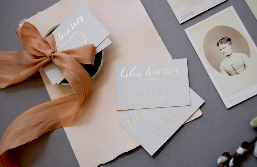 CREATING A FIRST IMPRESSION WITH CALLIGRAPHY