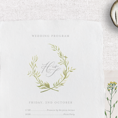 BESPOKE MONOGRAM FOR WEDDINGS, BRANDING OR PERSONAL STATIONERY - Miss Modern Calligraphy