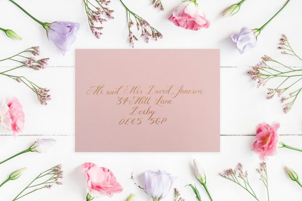 Envelope Calligraphy Service - Miss Modern Calligraphy