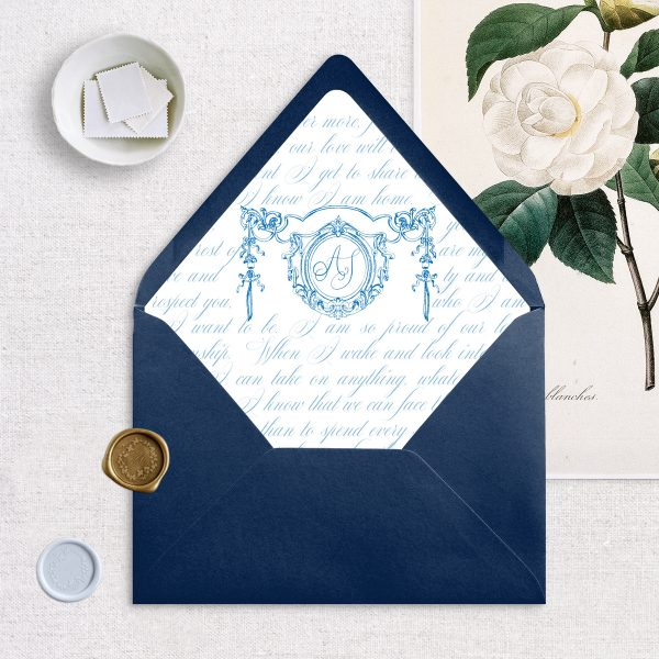 Envelope Liner - Matilde - Miss Modern Calligraphy