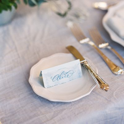 On the Day Place Card - Matilde - Miss Modern Calligraphy