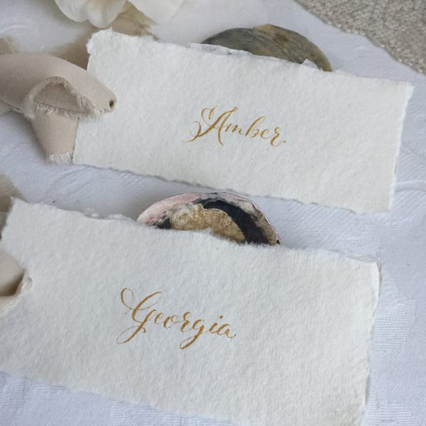 Place Card Calligraphy Service