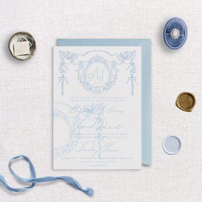Vellum Overlay Printed - Matilde - Miss Modern Calligraphy