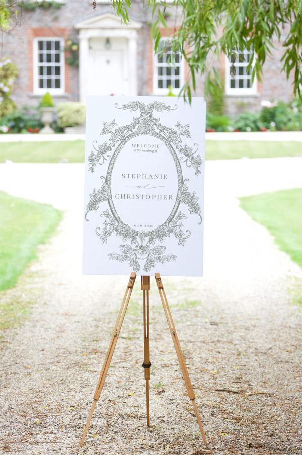 Welcome to the Wedding - Clara - Miss Modern Calligraphy