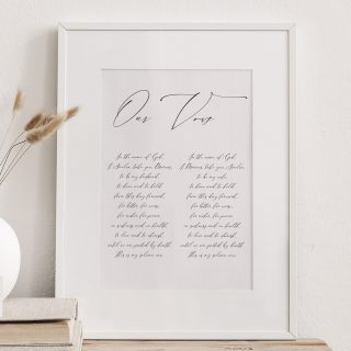 One of my most requested calligraphy commissions is to handwrite in ink wedding vows, whether they are traditional church vows or personal vows that have been created by the lovely couple.  It's such a joy to be able to make something so special that can either be a gift from friends, an anniversary or a wedding present.  You can choose to have both vows together or on separate pieces of paper.  I use 300gsm watercolour paper which has a lovely off white slightly textured appearance.   #missmoderncalligraphy #weddingvows #weddingday #calligraphyweddingvows #goldinkcalligraphy #moderncalligraphy #moderncalligraphyweddingvows #specialday